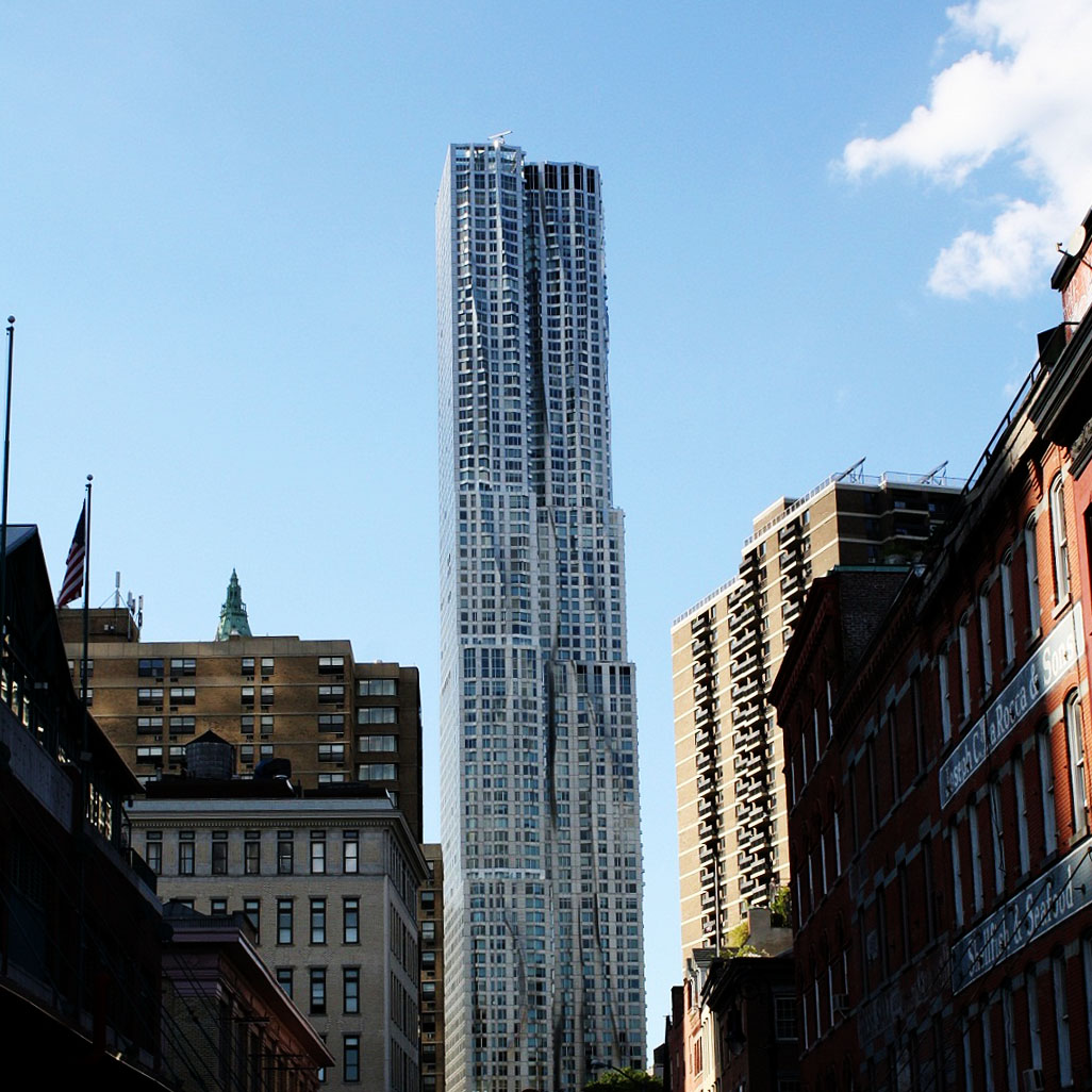New York by Gehry 8 Spruce Street
